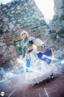 Saber | Fate Stay Night by ARTEMICTLAN