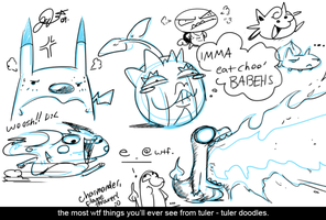 random doodles ftw or wtf by super-tuler