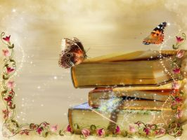 Wallpapers of books by Korolevatumana