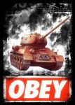obey  T-34-85 by scalleywagproduction