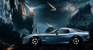 Dodge Viper - Glorious Farewell by AHK by AbdollahHamodzadeh