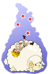 APH: Bloated Sheep by Rose-McSugar