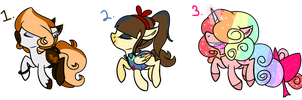 Themed Ponies Auction {OPEN:: 2/3} by strawberrymeopin
