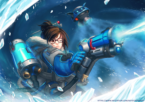 Overwatch Mei by Lutherniel