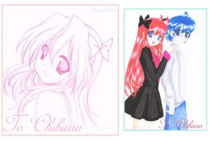 old drawing to chibiusa16 by As-If-I-Draw