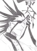 Kenpachi by justMelody