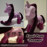 Purple Kanji Pony Dreamer by AnimeAmy