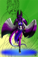 Samarian Princess Mavari COLOR by JennaTheDragon
