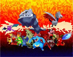 Fav Pokemon from Johto Region by SmashBrawlR7538