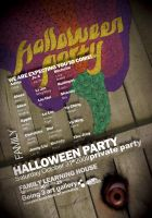 Halloween party poster by rockingonion