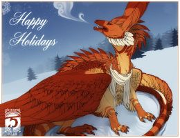 Happy Holidays! 2014 by Shinerai
