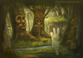 Bunny found his candies by AlineMendes