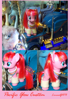 Pacific Glow Brushable MLP Custom by lonewolf3878