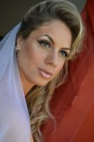Bride Portrait Stock II by CrowsReign-Stock