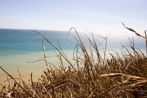 East Bourne - View from the Cliff by jay4everuk