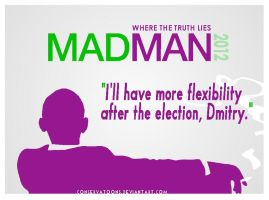 Obama Madman 2012 by Conservatoons
