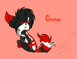 +Commission+ Blood-thirsty Creature by Cibibot
