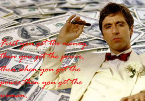 Scarface:Money,Power,Women by SOLIDCAL