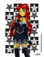 Gothic Lolita Starfire by TexasUberAlles