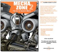 Mecha Zone Art 2 pre-orders by Mecha-Zone