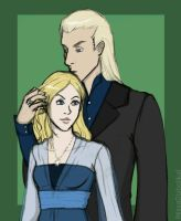 Lucius and Narcissa Love by MissaDiabolikal