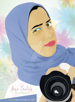 CARTOON character Portrait by ElsharQawy