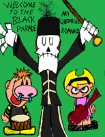 MCR Welcome 2 the Black Parade by Dynamoe