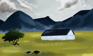 Environment Practice- Scottish Highlands by oofuchibioo