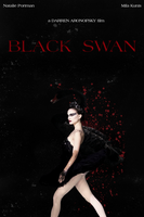 Black Swan Movie Poster by beyond-neverland