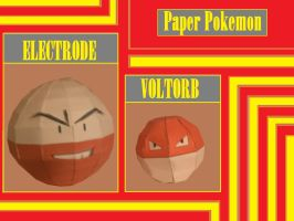 Pokemon PaperCrafts by Adisko