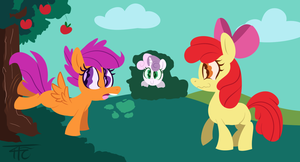 The Apple Gang by wildberry-poptart