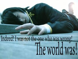 Cosplay: Lelouch: Being Wrong by hyacinthess