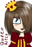 Me the queen of madness by Cutediepie