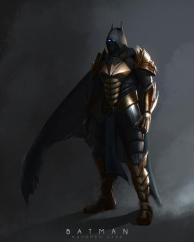 Batman Redesign mage by TheFearMaster