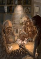 infected poker by AlexiusSana