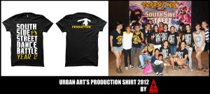 Production Shirt of UA by AmenAvifail