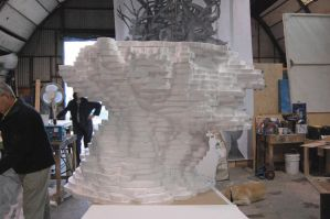 The giant sculpture taking shape by BenPhillips