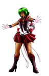 Commission - Crystal Sailor Pluto by shuu-bunni