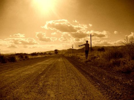 the hitch hiker by rubix2010