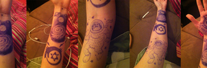Drawing On Myself by Puzzlr
