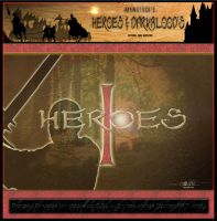 H and D Heroes Set 1 by mawstock