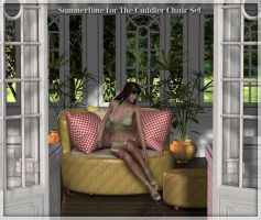 Summertime for the Cuddler Set by Art-by-Lully