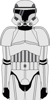 Imperial Stormtrooper armor by Tounushi