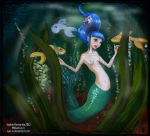 The Mermaid Pin-Up by Princess-Suki-W