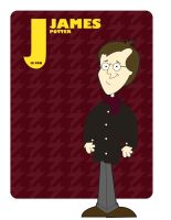 J is for James Potter by jksketch