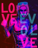 LOVE EVOL VE by napallama