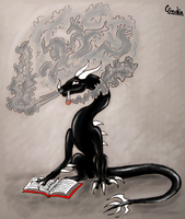 smoke a book by SovaKa