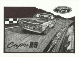 Ford Capri RS by przemus