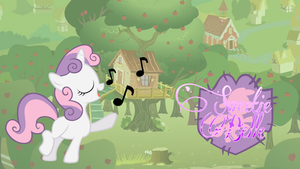 Sweetie Belle wallpaper [Updated] by PureZparity