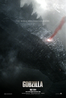 Godzilla (2014) - Alternate Teaser Poster by CAMW1N
